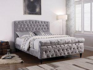 Colorado Bed Silver
