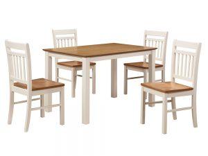 Chester Dining Set (Cream)