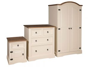 Painted Corona Bedroom Set