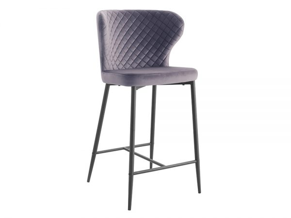 Cosmo Bar Stool (Grey)