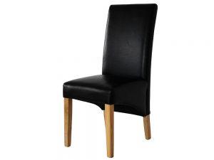 D1 Parson Chair (Black)