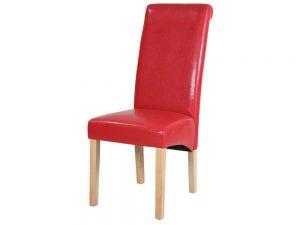 D1 Parson Chair (Red)