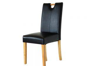 D20 Parson Chair (Black)