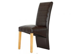 D5 Parson Chair Brown