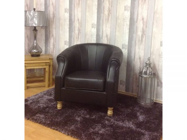 Dublin Tub Chair (Black)