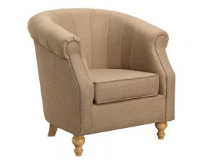 Dublin Tub Chair (Sand Fabric)