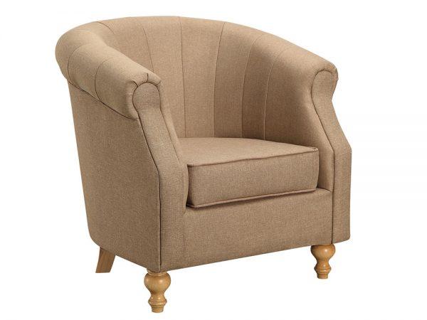 Dublin Tub Chair (Sand Fabric)