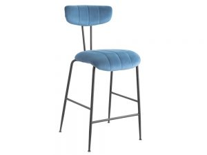 Enzo Bar Stool (Blue)