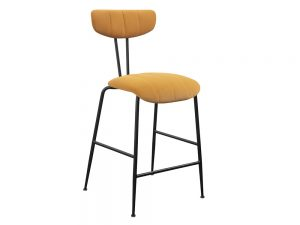 Enzo Bar Stool (Mustard)