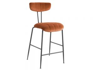 Enzo Bar Stool (Orange)