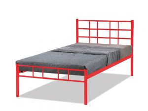 Morgan Bed 3' Red