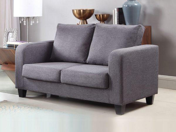 Tempos Sofa in a Box Charcoal Fabric