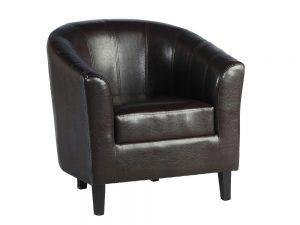 Tempos Tub Chair (Brown)