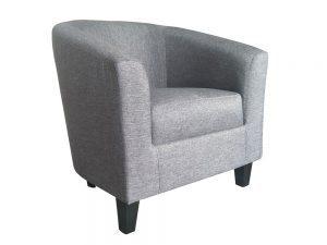 Tempos Tub Chair (Charcoal)