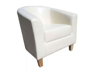 Tempos Tub Chair (White)